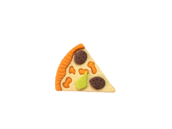 3D Food Fun Eraser - Slice of Pizza - School Reward