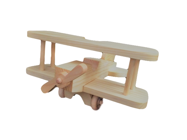 OWT32 Chunky Wooden Toy Airplane
