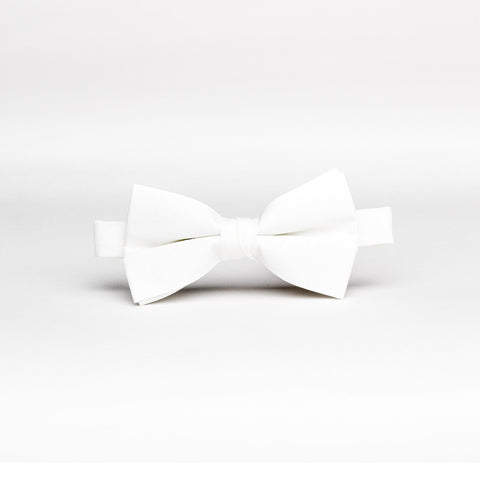 Light Ivory Micro/Poly Bow Tie - Women's Tuxedo Suits | girls prom tuxedo | gal tux | Wedding Party, Bridesmaids