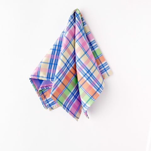 Plaid Pastel Pocket Square