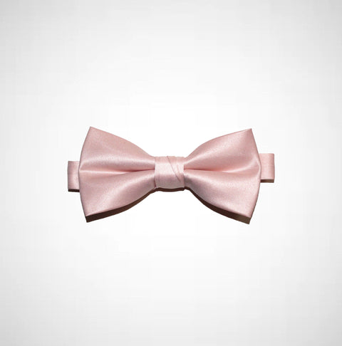Ballerina Pink Poly/Satin Bow Tie - Women's Tuxedo Suits | girls prom tuxedo | gal tux | Wedding Party, Bridesmaids