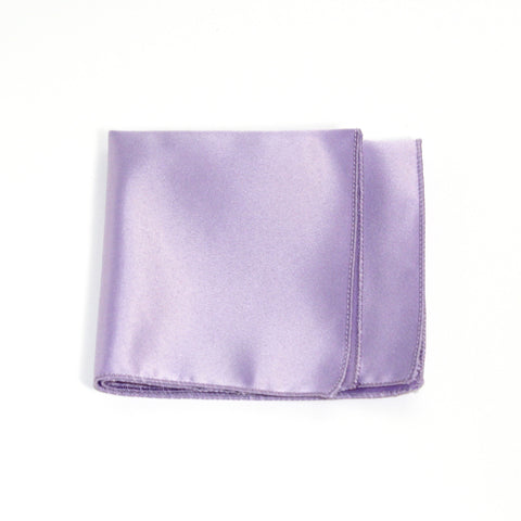 Lavender Poly/Satin Pocket Square