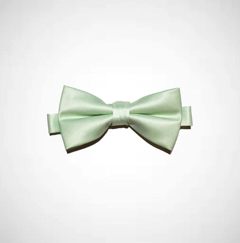 Mint Poly/Satin Bow Tie - Women's Tuxedo Suits | girls prom tuxedo | gal tux | Wedding Party, Bridesmaids