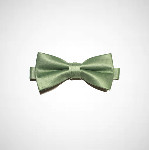 Olive Green Poly/Satin Bow Tie - Women's Tuxedo Suits | girls prom tuxedo | gal tux | Wedding Party, Bridesmaids