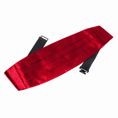 Red Cummerbund - Women's Tuxedo Suits | girls prom tuxedo | gal tux | Wedding Party, Bridesmaids