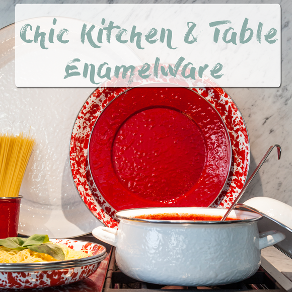 Enamelware by Shabby Chic Decor