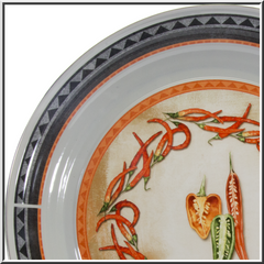 Chili Peppers Enamelware Collection