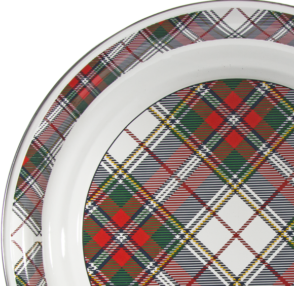 Highland Plaid Enamelware