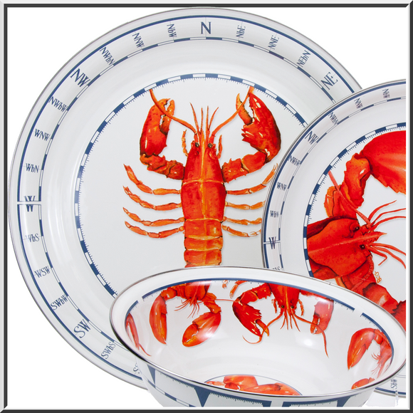 Lobster Enamelware Collection