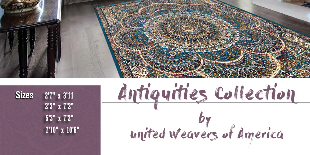 Antiquities Rug Collection at Shabby Chic Decor