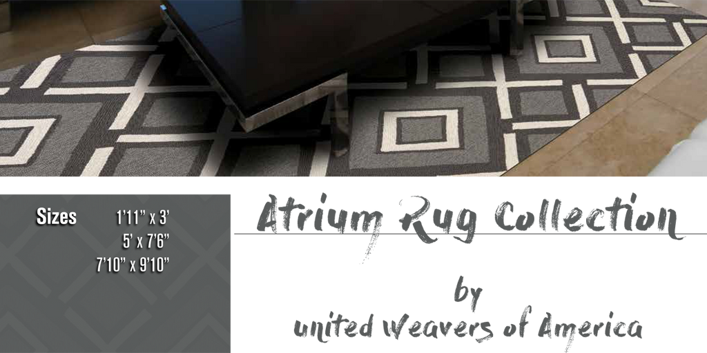 Atrium Rug Collection at Shabby Chic Decor