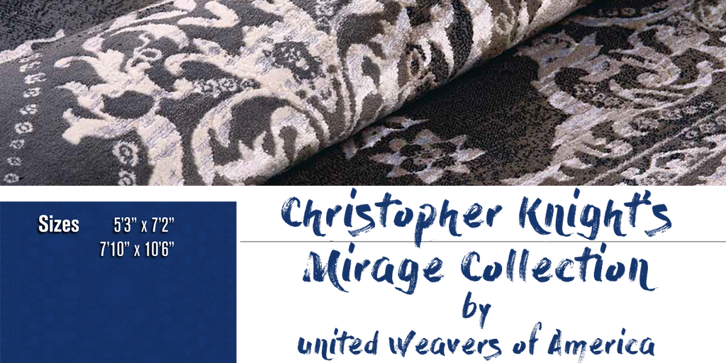 Christopher Knight Mirage Rug Collection at Shabby Chic Decor