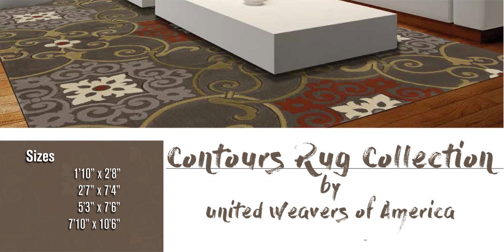 Contours Rug Collection at Shabby Chic Decor