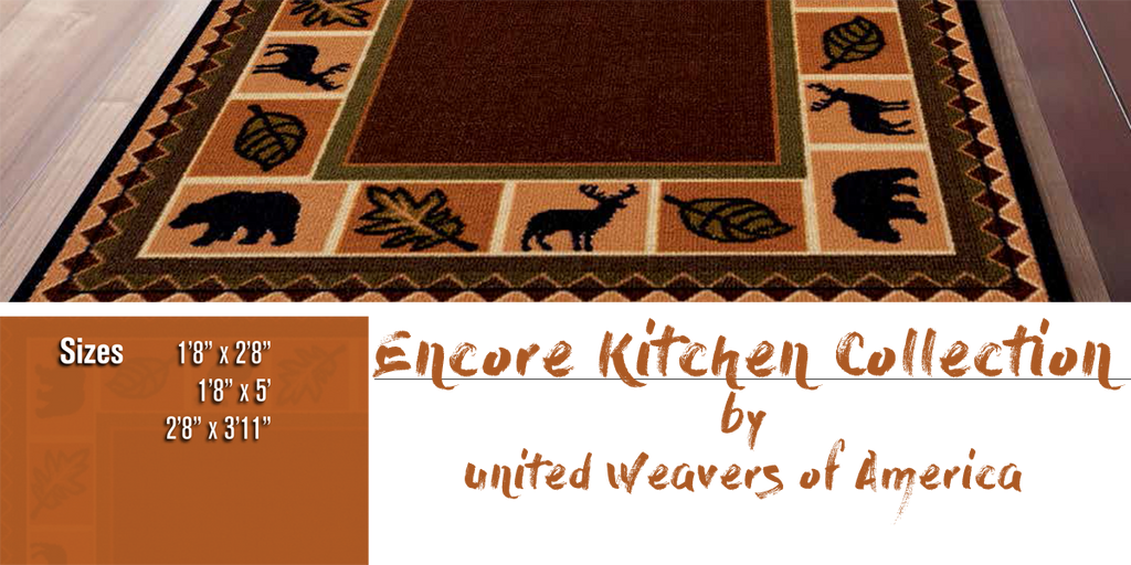 Encore Kitchen Rug Collection at Shabby Chic Decor