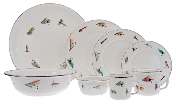 FF03 Fly Fishing Serving Basin