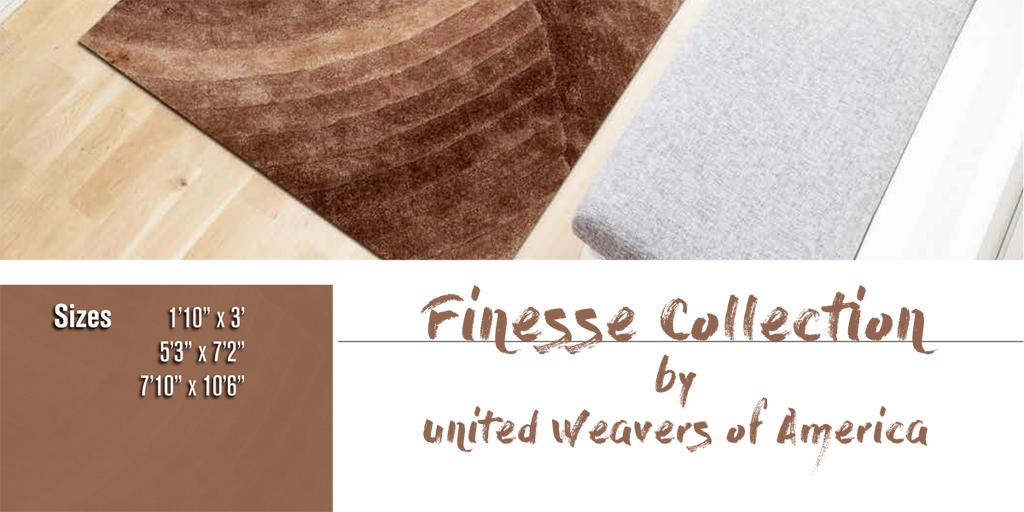 Finesse Rug Collection at Shabby Chic Decor