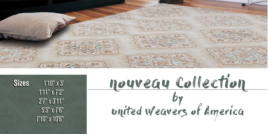 Nouveau Rug Collection at Shabby Chic Decor