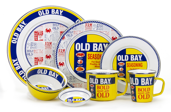 OB11 Old Bay Sandwich Plate