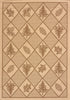 United Weavers - Solarium Rug Collection -WOVEN PINE BROWN (101-40550)