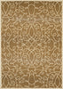 United Weavers - Encore Rug Collection - SCROLLING CIRCLES BEIGE (1420-10014)