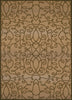 United Weavers - Encore Rug Collection - SCROLLING CIRCLES TAUPE (1420-10094)