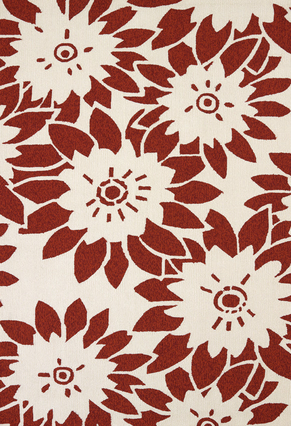 United Weavers - Atrium Rug Collection - GARDEN CANVAS CHERRYSTONE (1500-20637)
