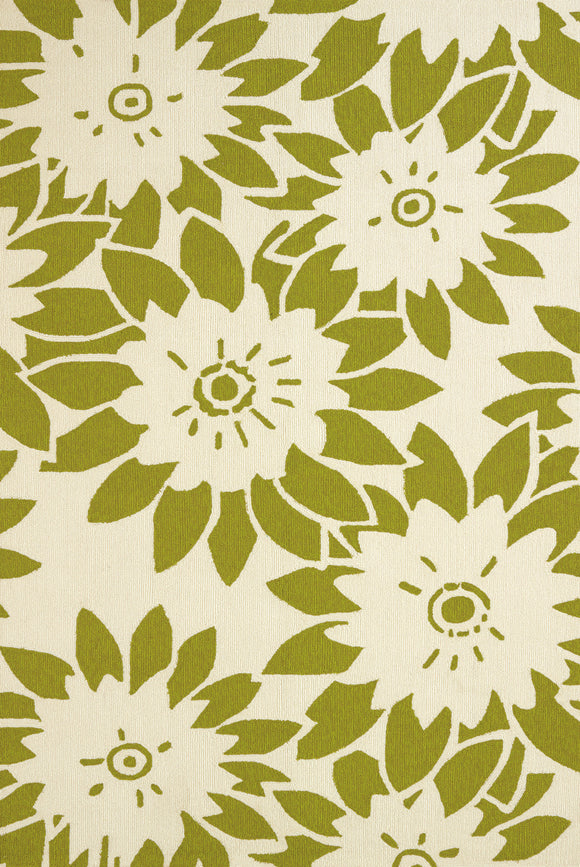United Weavers - Atrium Rug Collection - GARDEN CANVAS LIME (1500-20644)