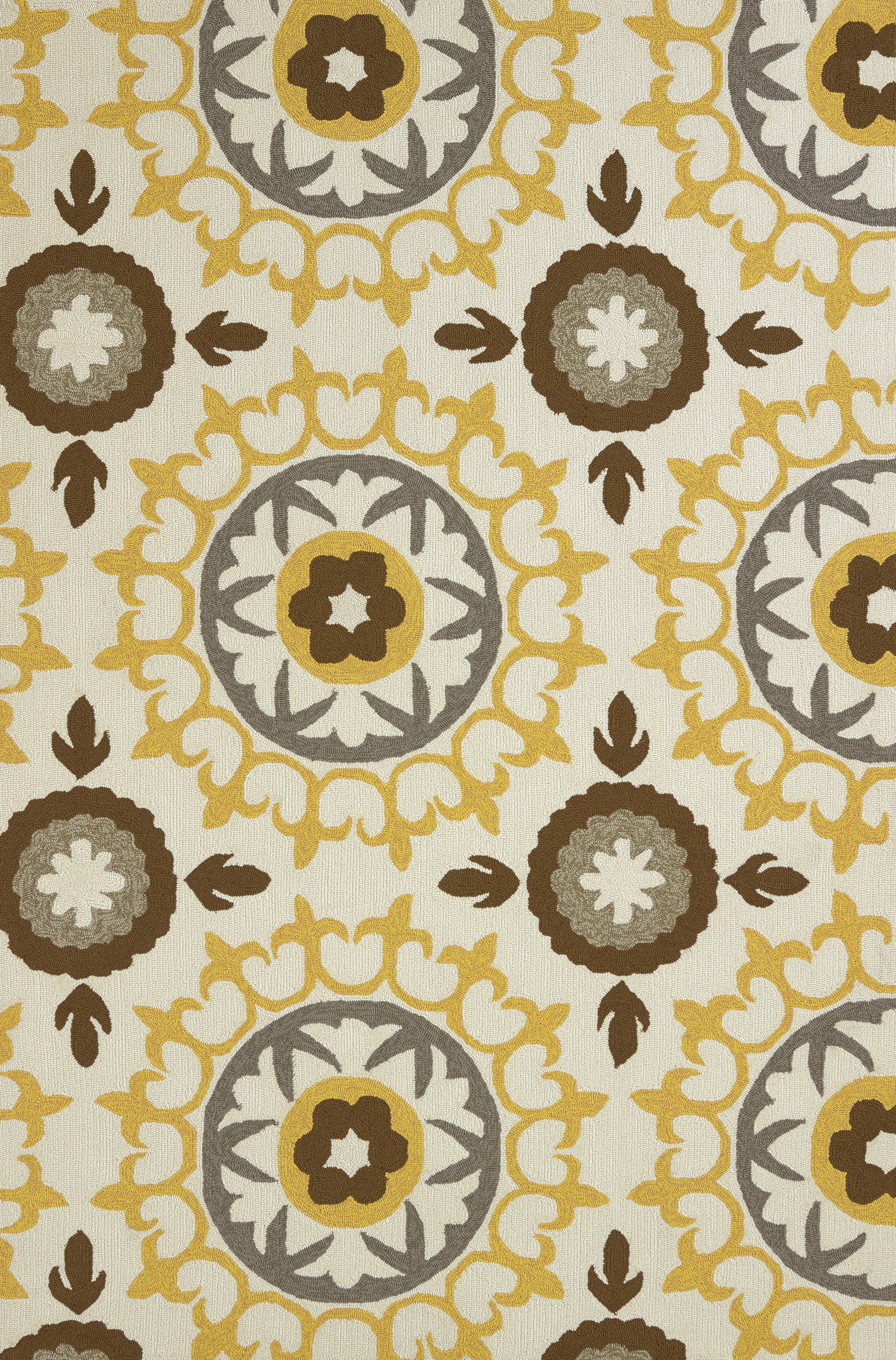 United Weavers - Atrium Rug Collection - CAROUSEL YELLOW (1500-20812)