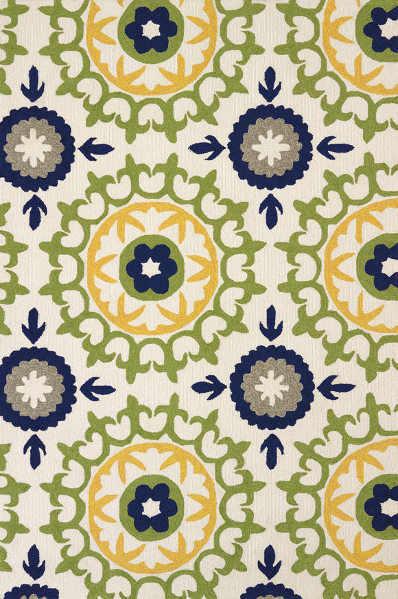 United Weavers - Atrium Rug Collection - CAROUSEL APPLE GREEN (1500-20846)