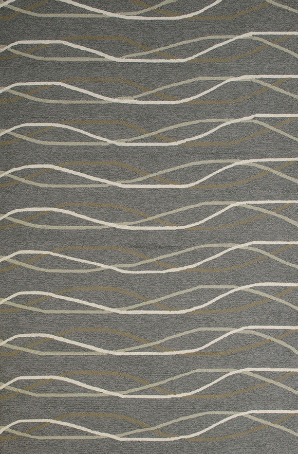 United Weavers -Atrium Rug Collection - BREEZEWAY CHARCOAL (1500-21277)