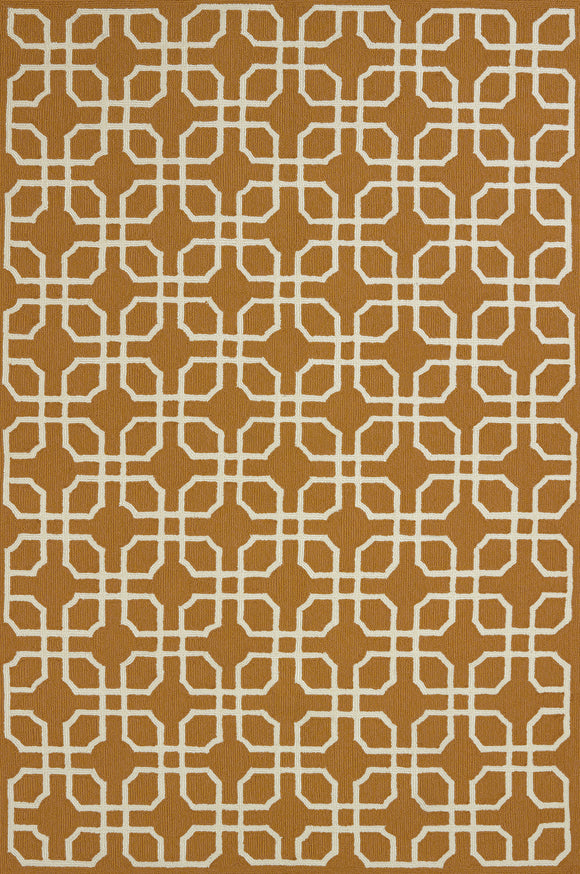 United Weavers -Atrium Rug Collection - QUADRANT CINNAMON (1500-21422)
