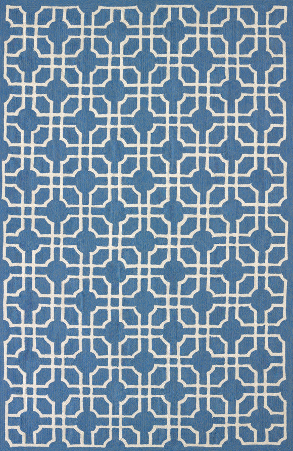 United Weavers -Atrium Rug Collection - QUADRANT BLUE-GREY (1500-21467)