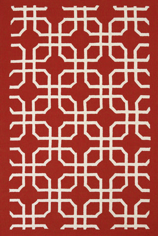 United Weavers -Atrium Rug Collection - QUANTUM RED (1500-21730)