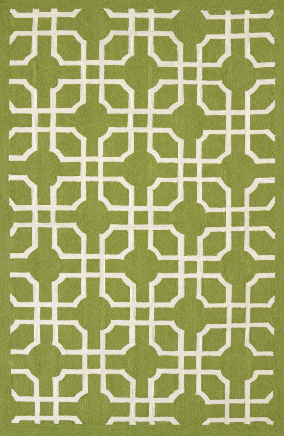 United Weavers -Atrium Rug Collection - QUANTUM APPLE GREEN (1500-21746)