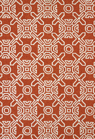 United Weavers - Panama Jack Signature Rug Collection - MAUI TERRACOTTA (1501-21129)