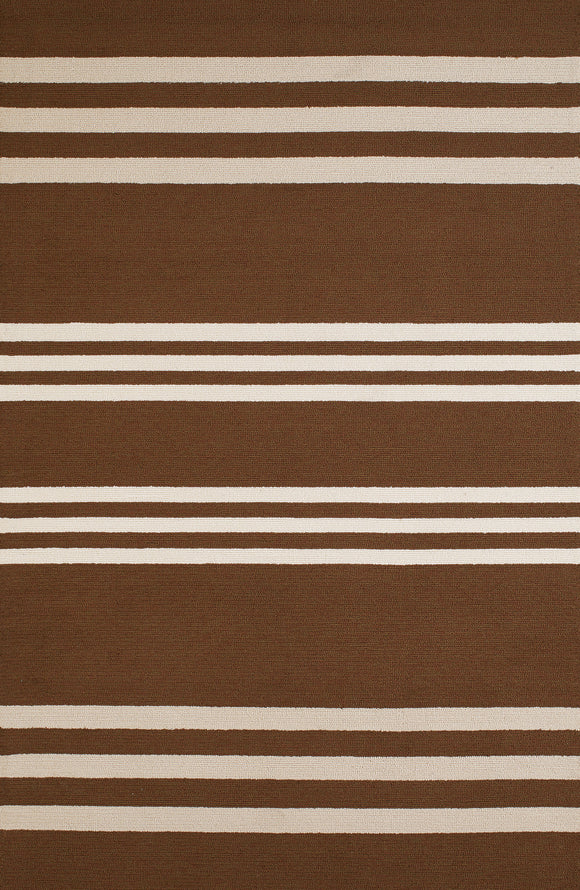 United Weavers - Panama Jack Signature Rug Collection -  PARALLEL CHOCOLATE  (1501-22051)