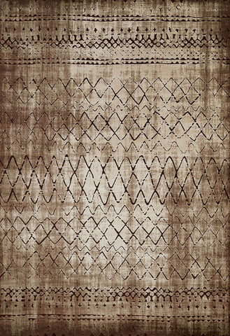 United Weavers - Weathered Treasure Rug Collection - LUCID LIGHT BROWN (1800-40152)
