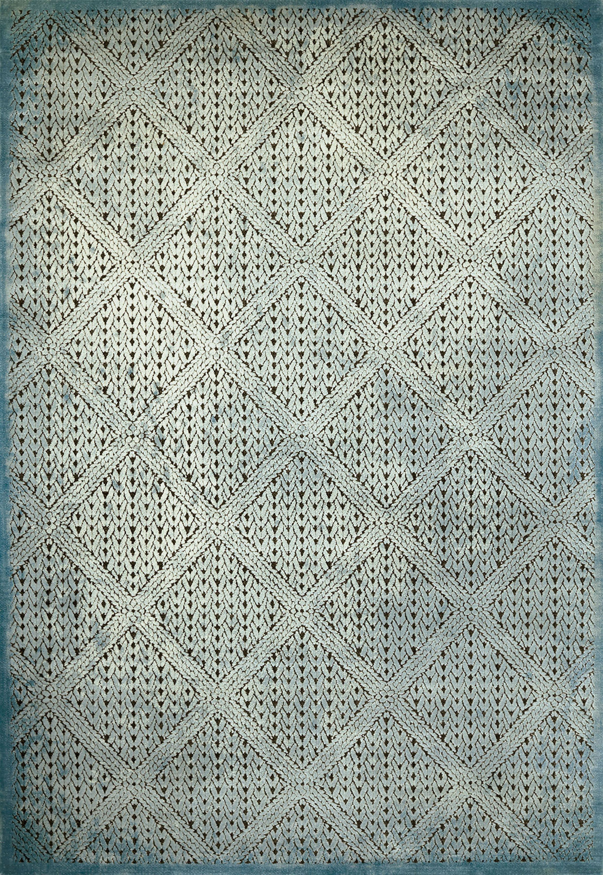 United Weavers - Weathered Treasure Rug Collection - DEVONSHIRE AQUA (1800-40563)