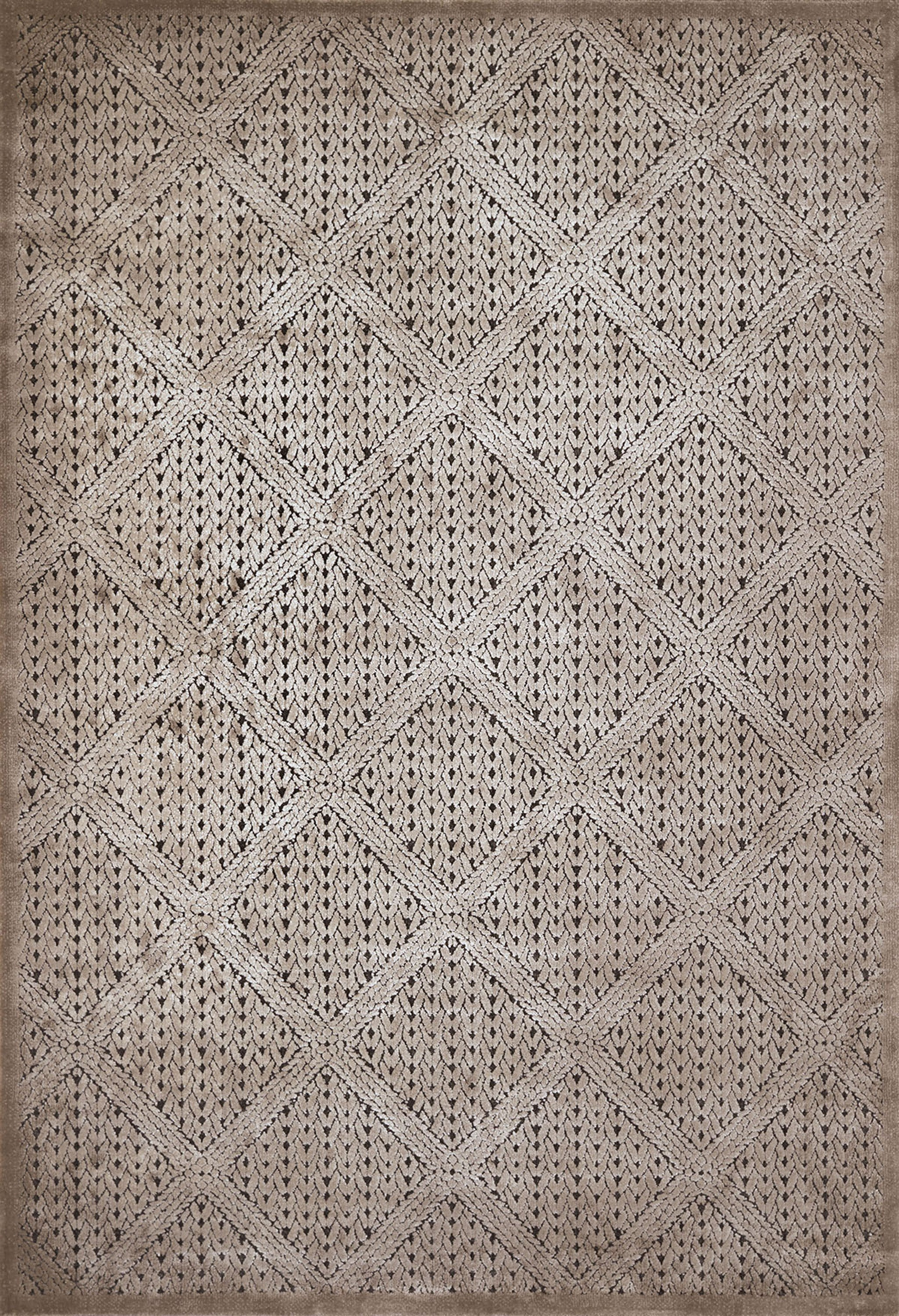 United Weavers - Weathered Treasure Rug Collection - DEVONSHIRE TAUPE (1800-40594)