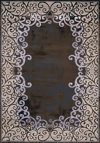 United Weavers - Mirage Rug Collection - LUMINOUS DARK TAUPE (1810-20096)