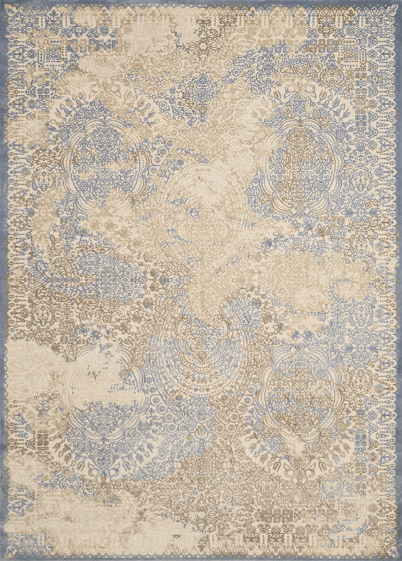 United Weavers - Dais Rug Collection - FADED GRACE LIGHT BLUE (1820-30160)