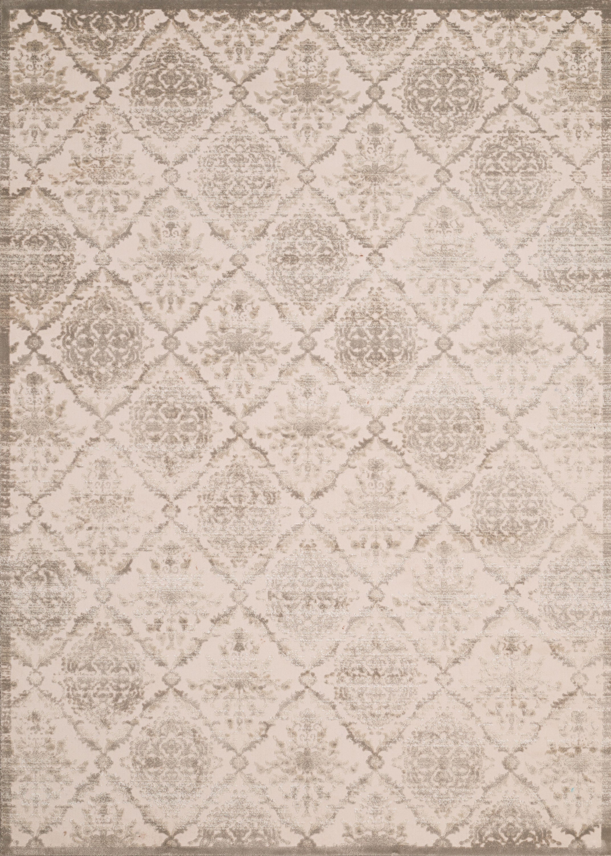 United Weavers - Dais Rug Collection -  ELEGANT TRELLIS TAUPE (1820-30296)