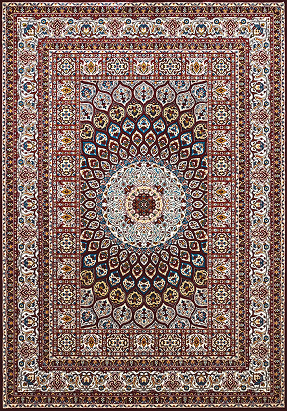 Antiquities Jaipur Ruby Rug