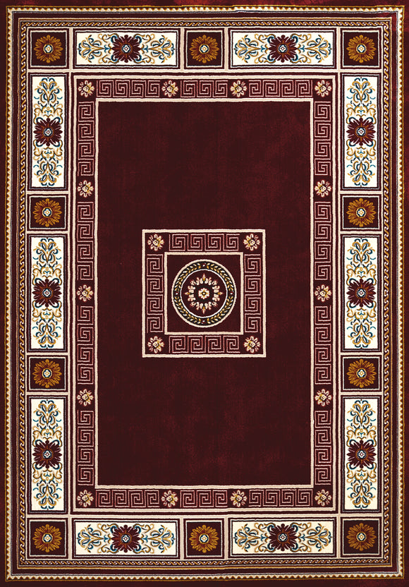 United Weavers - Antiquities Rug Collection -  ORIENTAL BORDER RUBY (1900-01039)