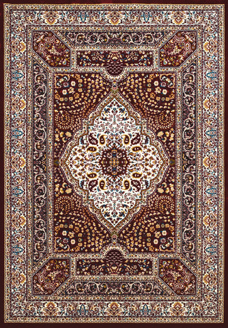 United Weavers - Antiquities Rug Collection -  QUM DIAMOND RUBY (1900-01139)