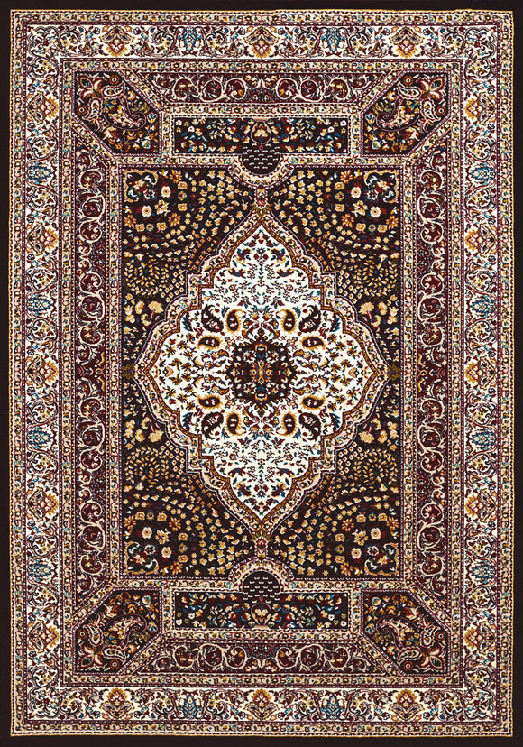 United Weavers - Antiquities Rug Collection -  QUM DIAMOND NAVY (1900-01164)