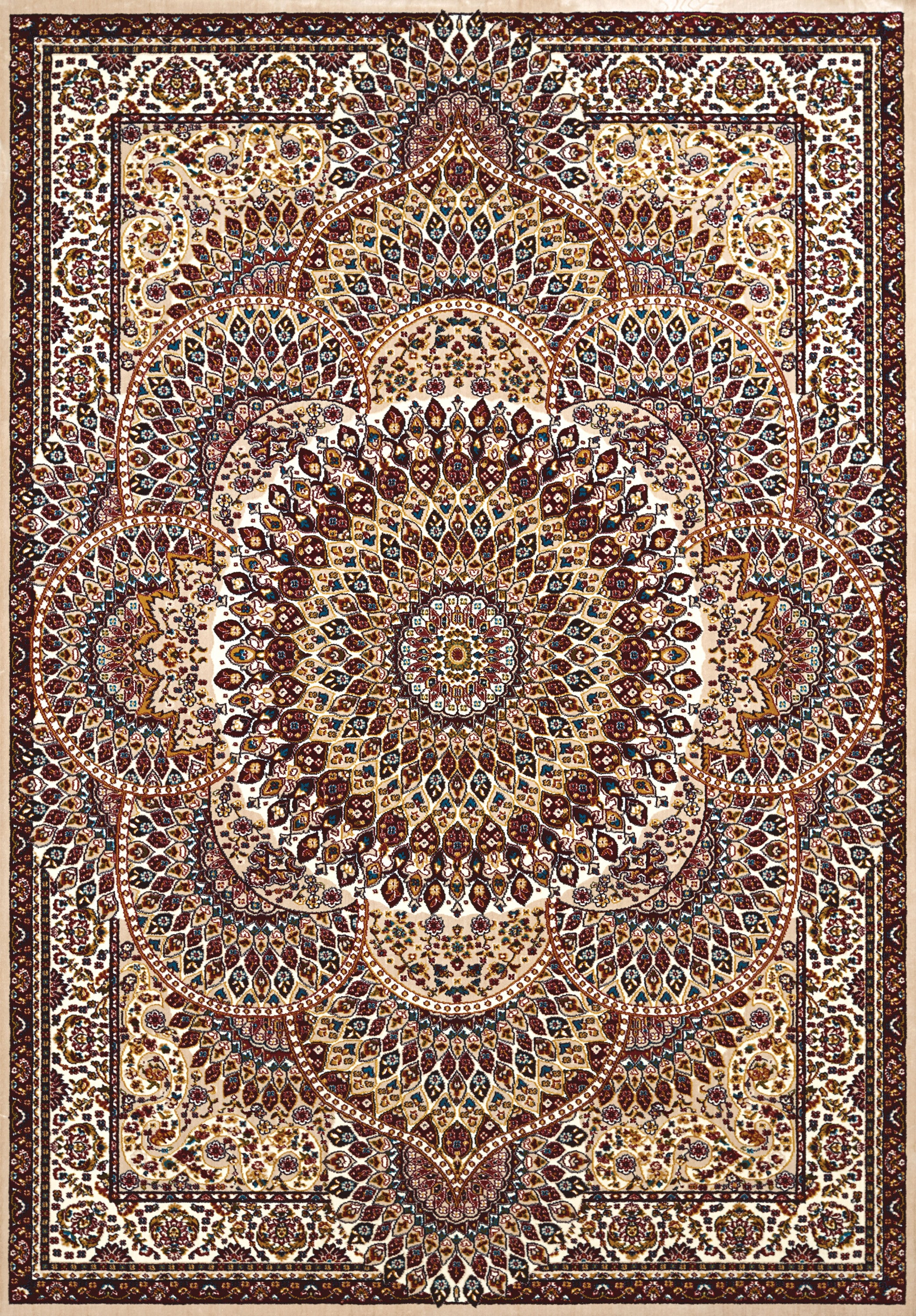 United Weavers - Antiquities Rug Collection -  SAROUK IVORY (1900-01215)