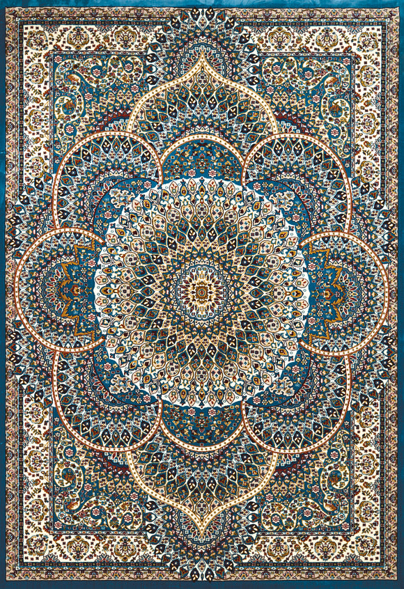 United Weavers - Antiquities Rug Collection -  SAROUK CERULEAN (1900-01262)