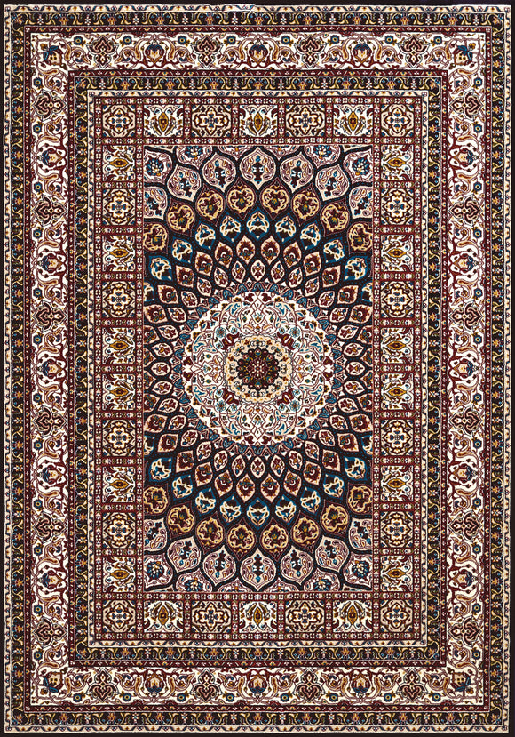 United Weavers - Antiquities Rug Collection -  JAIPUR NAVY (1900-01664)