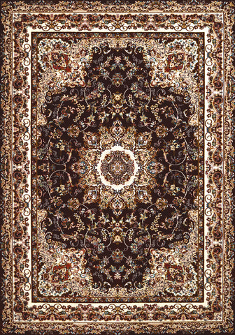 United Weavers - Antiquities Rug Collection - SARABAND DARK BROWN (1900-01855)